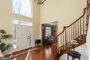 Welcoming two story Foyer - 8108 SPRUCE VALLEY LN, CLIFTON