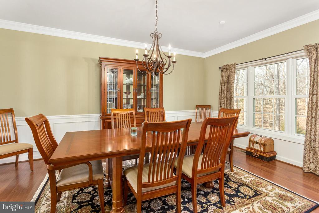 Dining Room - 8108 SPRUCE VALLEY LN, CLIFTON