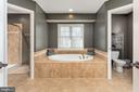 Luxury Master Bathroom - 8108 SPRUCE VALLEY LN, CLIFTON