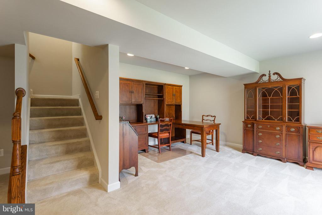 Lower Level Walkout Basement - 8108 SPRUCE VALLEY LN, CLIFTON