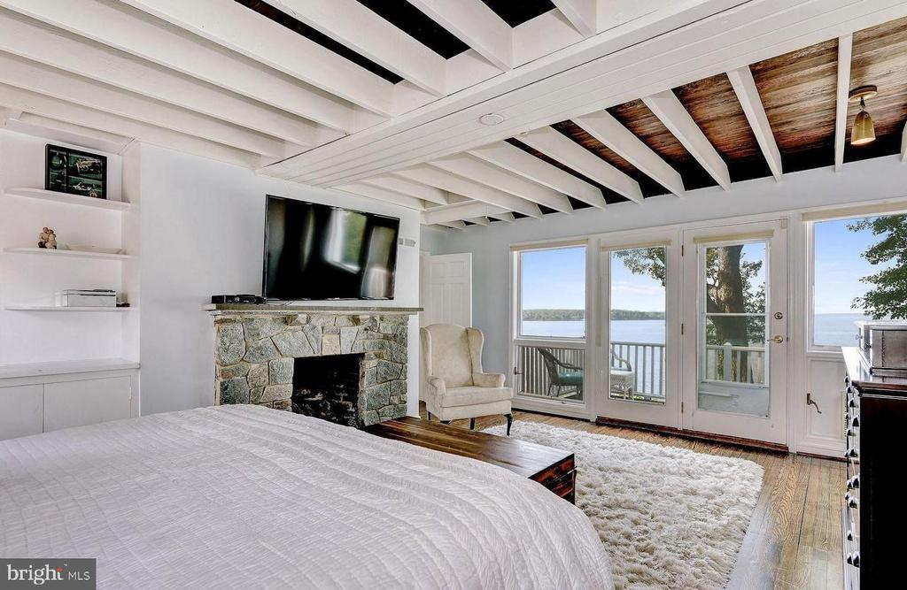 Master Suite private Balcony - 4005 BELLE RIVE TER, ALEXANDRIA