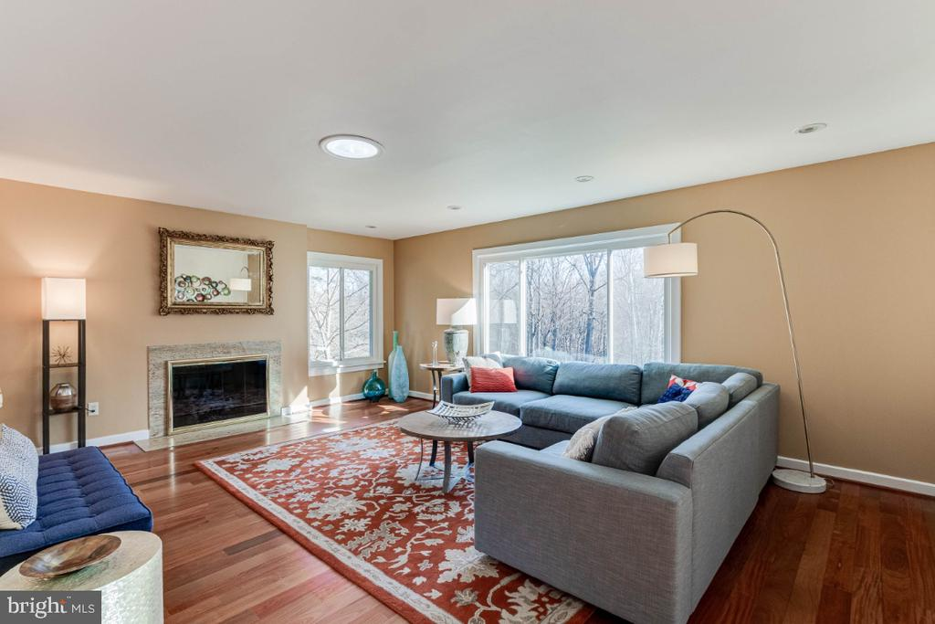 Living Room - 10907 WATERMILL CT, OAKTON