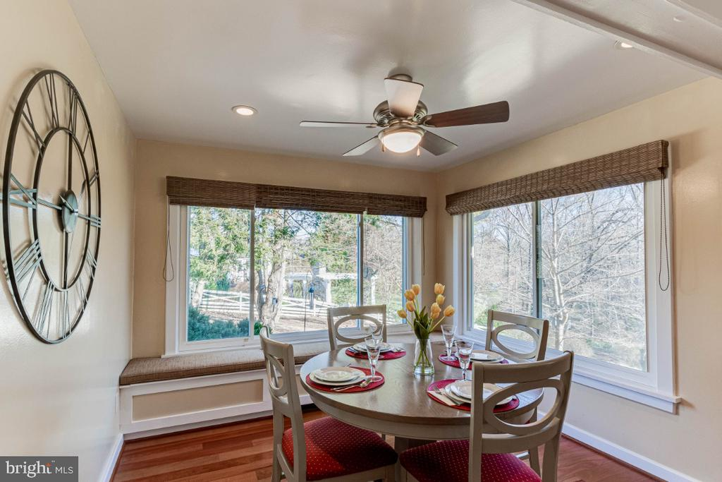 Kitchen Dining Area - 10907 WATERMILL CT, OAKTON