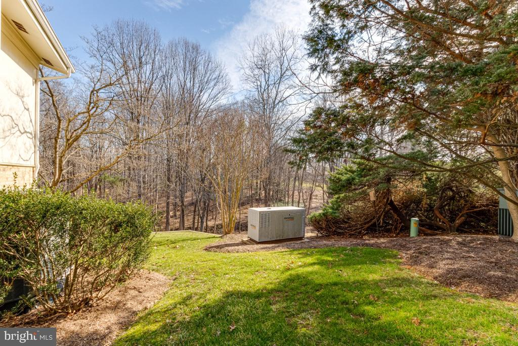Whole House Generator - 10907 WATERMILL CT, OAKTON
