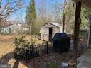 Yard with Shed - 238 KENT DR, MANASSAS PARK