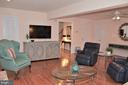 Main level family room - 5827 WESSEX LN, ALEXANDRIA