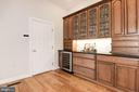 Kitchen Hutch w/ Additional Storage - 12184 HICKORY KNOLL PL, FAIRFAX