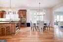 KItchen w/ Eat In Area - 12184 HICKORY KNOLL PL, FAIRFAX