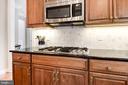 Kitchen w/Stylish Backsplash - 12184 HICKORY KNOLL PL, FAIRFAX
