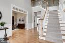 Welcoming 2 Story Foyer - 12184 HICKORY KNOLL PL, FAIRFAX