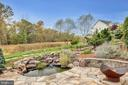 Lower Pond and Fire Pit - 22960 CARTERS STATION CT, ASHBURN