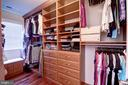 Extensive Built-Ins in Owner's Closets - 22960 CARTERS STATION CT, ASHBURN