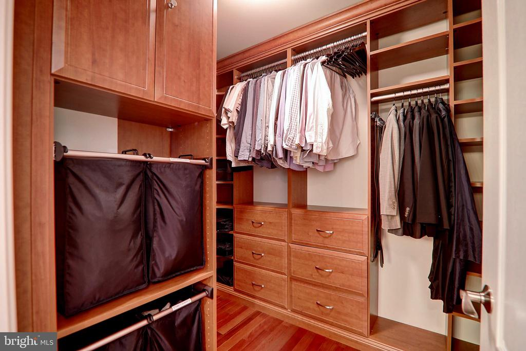 Separate Owner's Closets - 22960 CARTERS STATION CT, ASHBURN