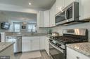 Stainless steel appliances with gas stove - 211 LANDING DR, FREDERICKSBURG