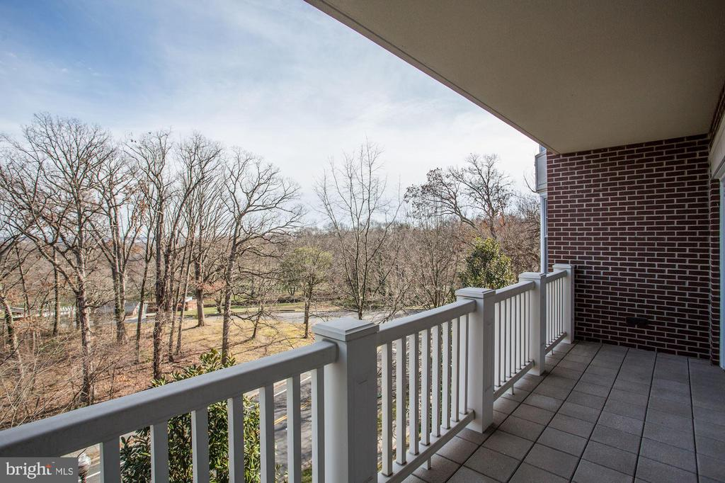 Balcony views of Arlington National Cemetery - 1201 N NASH ST #302, ARLINGTON