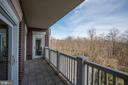 Balcony views of the Iwo Jima grounds - 1201 N NASH ST #302, ARLINGTON