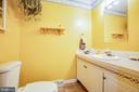 Half bath off of Mud Room - 11601 ORANGE PLANK RD, SPOTSYLVANIA