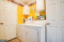 Laundry Area / Mud Room - 11601 ORANGE PLANK RD, SPOTSYLVANIA