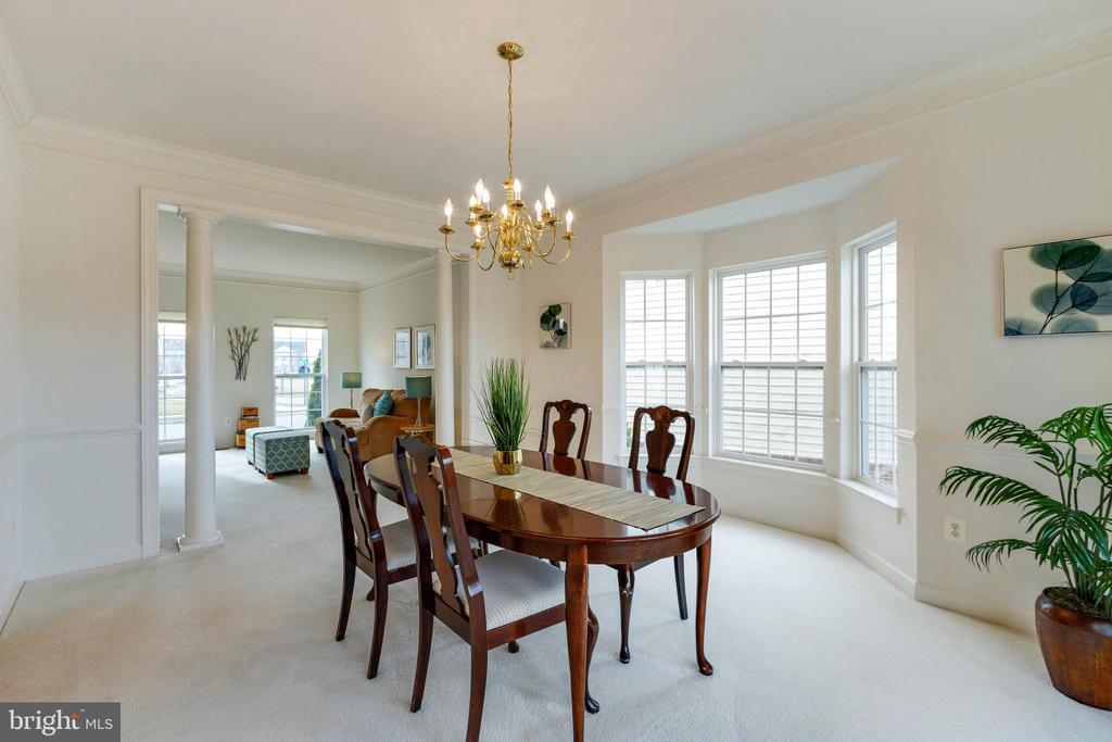 FORMAL DINING W/ BAY WINDOW - 1 - 2728 JOHN MILLS RD, ADAMSTOWN