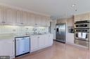 Updated kitchen - 5600 WISCONSIN AVE #1308, CHEVY CHASE