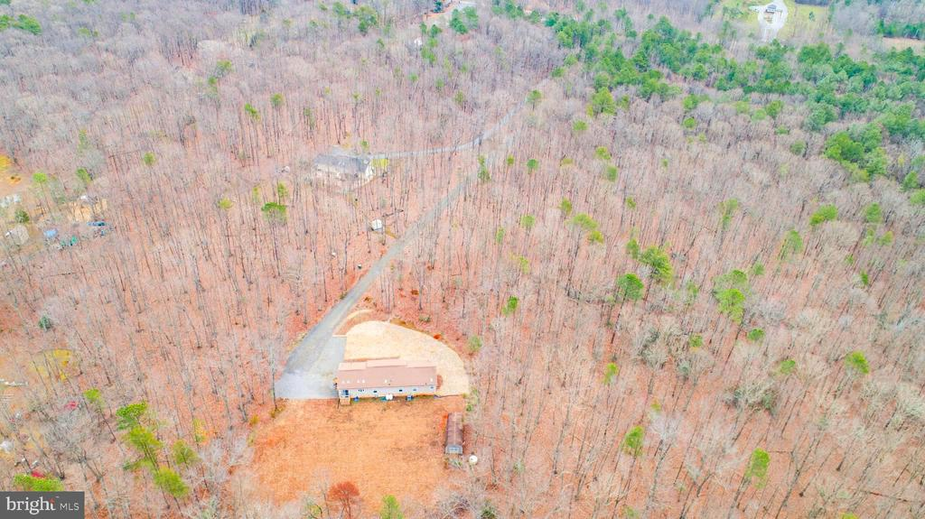 Overhead view from property to street - 11601 ORANGE PLANK RD, SPOTSYLVANIA