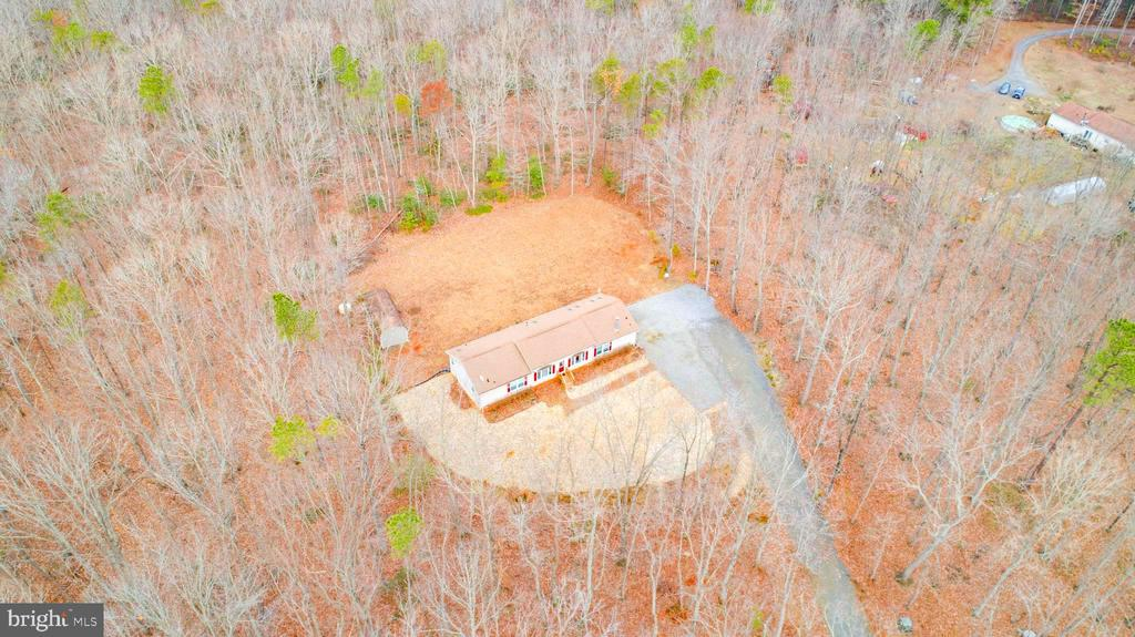 Be surrounded by lush trees in the spring/summer - 11601 ORANGE PLANK RD, SPOTSYLVANIA