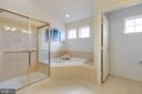 MASTER BATHROOM - SEPARATE BATH - 2728 JOHN MILLS RD, ADAMSTOWN