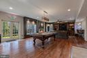 Walkout  Lower Level - Recreation Room - 8429 BROOK RD, MCLEAN