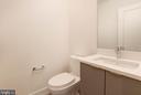 Lower Level Powder Room - 3016 UNIVERSITY TER NW, WASHINGTON