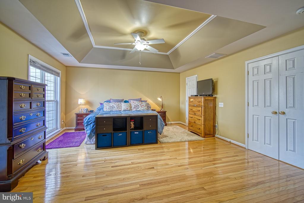 Master Bedroom has BIG Walk-in Closet - 22710 DEXTER HOUSE TER, ASHBURN