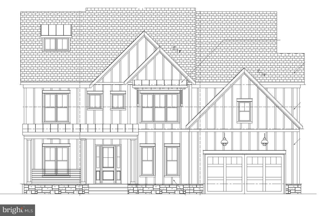 Front Elevation - 1011 FAIRWAY DR NE, VIENNA
