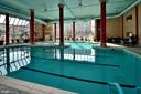 Indoor pool for community - 19375 CYPRESS RIDGE TER #107, LEESBURG