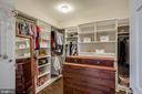 Custom Walk in Closet - 754 MCGUIRE CIR, BERRYVILLE