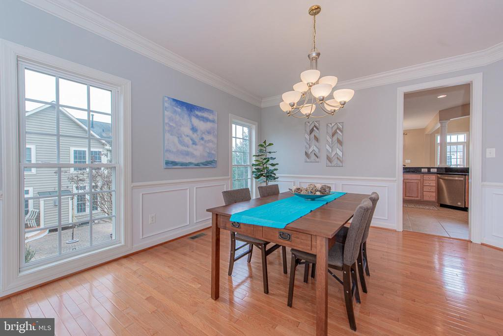 Formal Dining Room - 4000 BELVEDERE LN, FREDERICK