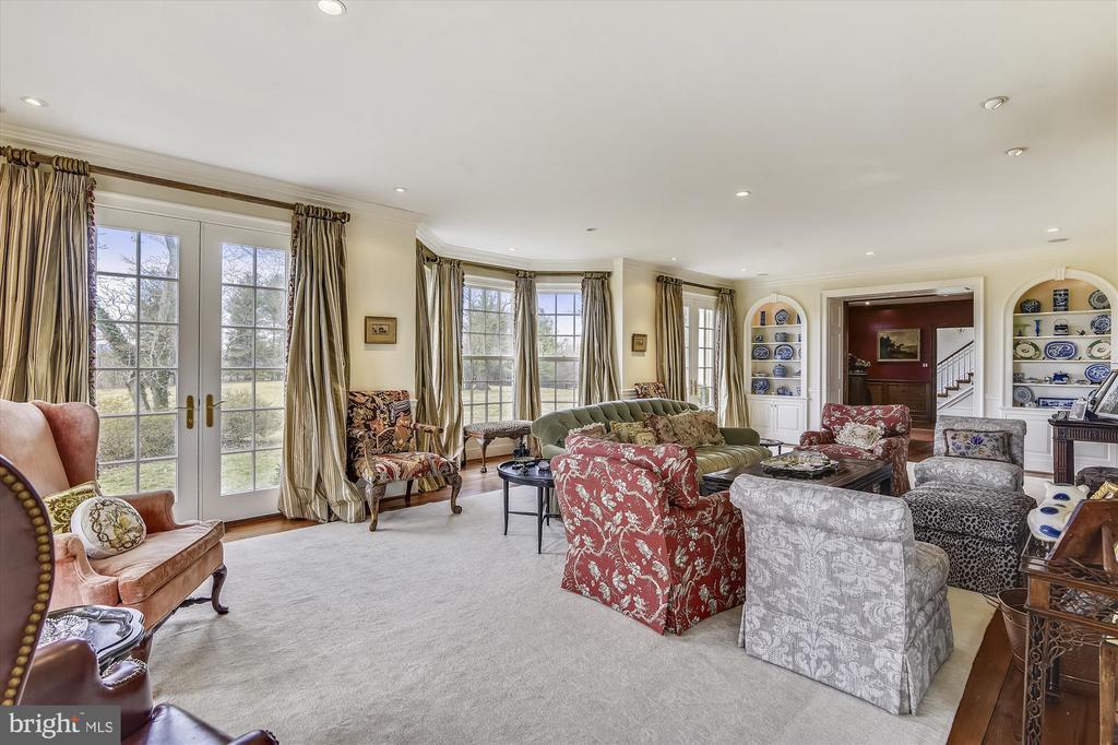 living room - 3050 RECTORTOWN RD, MARSHALL