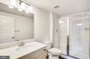 Lower Level Full Bath - 18609 STRAWBERRY KNOLL RD, GAITHERSBURG