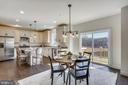 Kitchen/Dining/Living area leads to a Deck - 18609 STRAWBERRY KNOLL RD, GAITHERSBURG