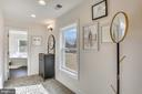 Dressing Area leads to Oversized Walk-in Closet - 18609 STRAWBERRY KNOLL RD, GAITHERSBURG