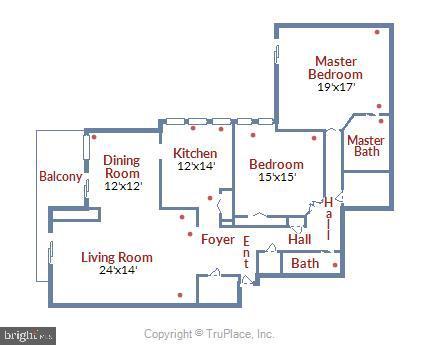 Largest 2 bedroom/2 bathroom model at Hyde Park. - 4141 N HENDERSON RD #1011, ARLINGTON