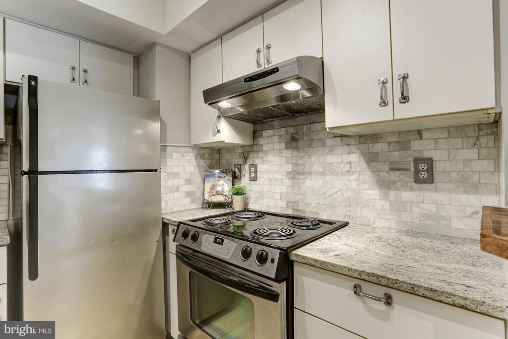 Updated Kitchen - 1275 25TH ST NW #808, WASHINGTON