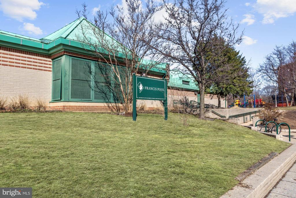 Pool and Play area - 1275 25TH ST NW #808, WASHINGTON
