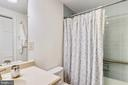 Second full bathroom. Bath/shower combination. - 4141 N HENDERSON RD #1011, ARLINGTON
