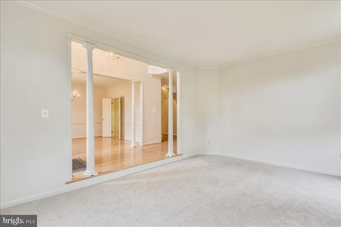 Formal Living Room - 13906 LEETON CIR, CHANTILLY