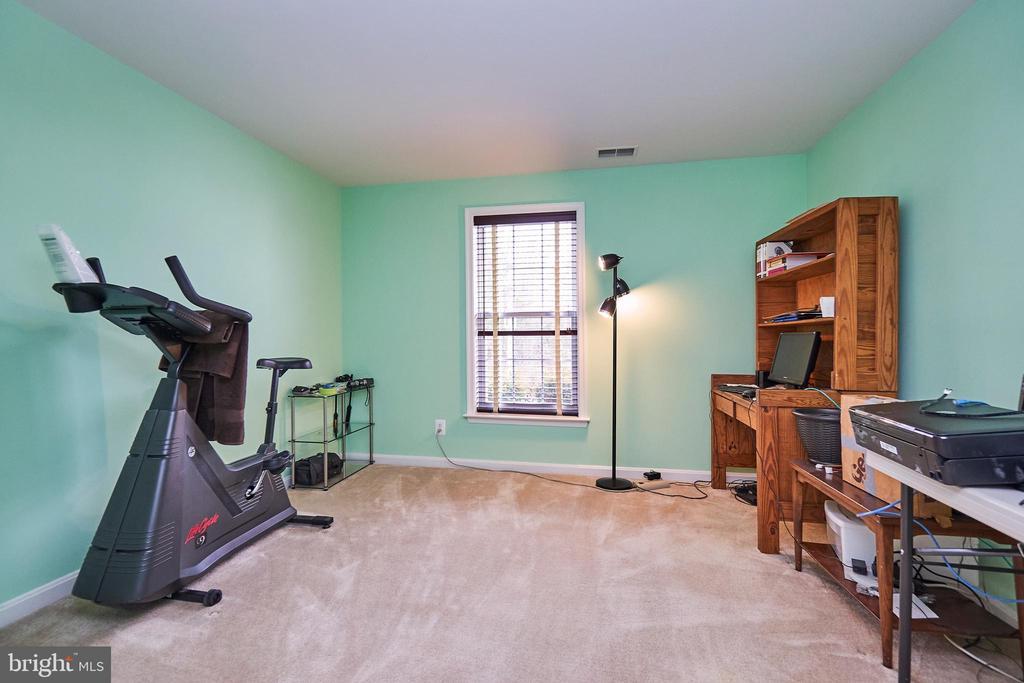 Fifth bedroom on lower level - 5947 TUMBLE CREEK CT, HAYMARKET