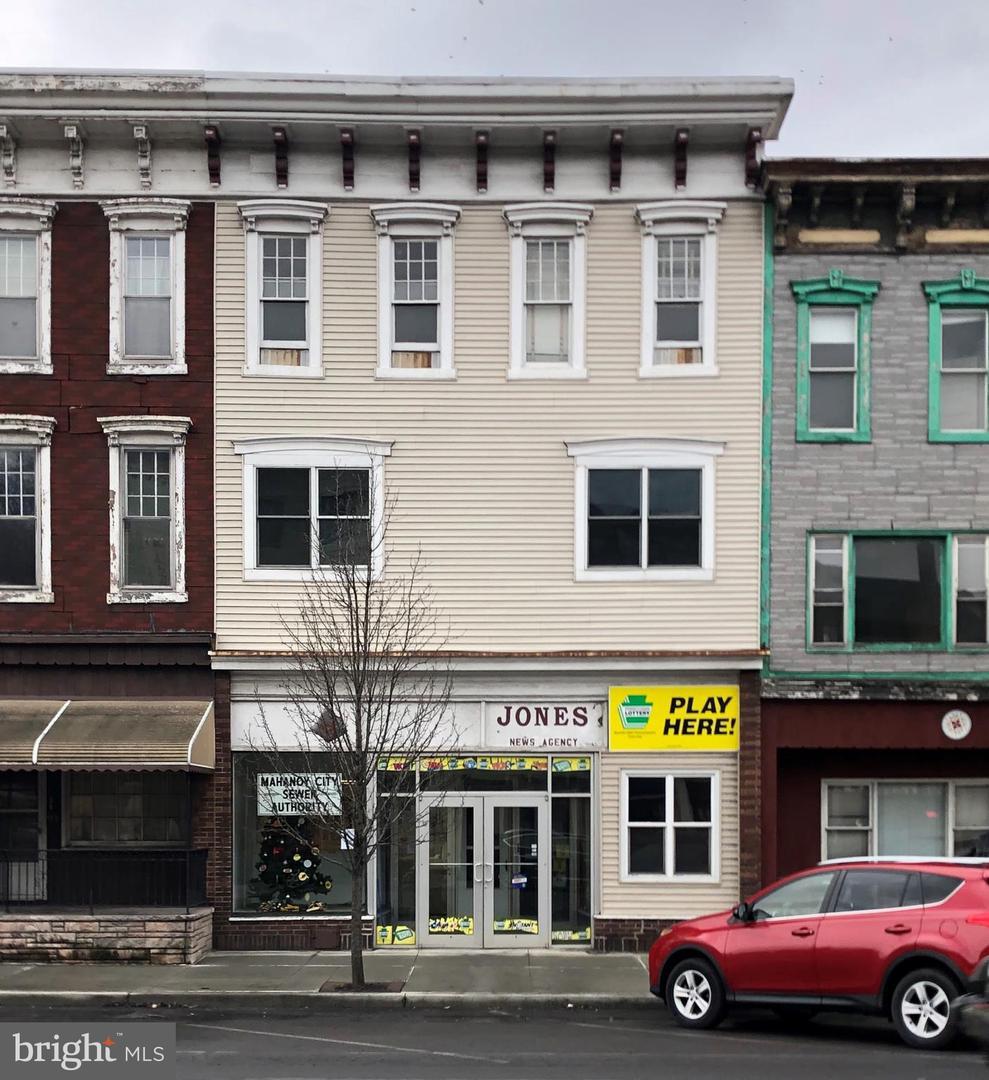 για την Πώληση στο 128 E CENTRE Street Mahanoy City, Πενσιλβανια 17948 Ηνωμένες Πολιτείες