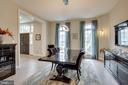 Elegant Dining Room with Custom Elan Lighting - 746 LEIGH MILL RD, GREAT FALLS