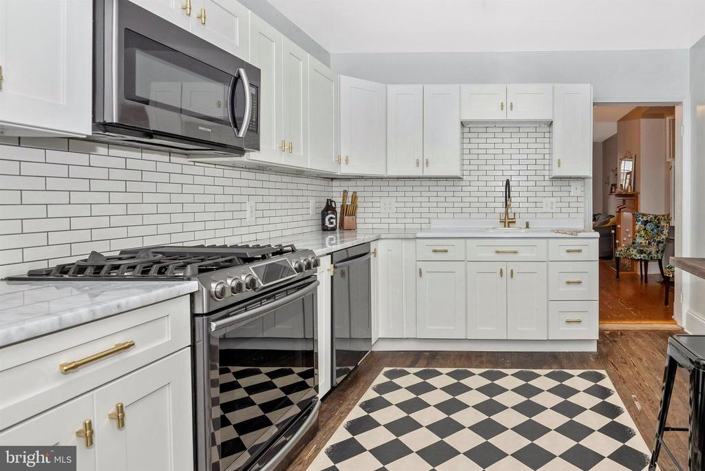 NEW Gourmet Kitchen with GAS Cooking - 10 N WISNER ST, FREDERICK