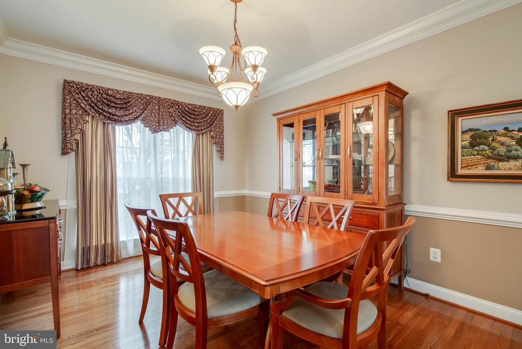 FORMAL DINING ROOM - 5014 QUELL CT, WOODBRIDGE