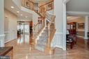 GORGEOUS FRONT FOYER - 5014 QUELL CT, WOODBRIDGE