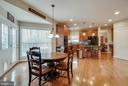EAT IN KITCHEN - 5014 QUELL CT, WOODBRIDGE